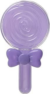 loudizhongwenhuanjing 12Pcs Creative Lollipop Round Transparent Plastic Wedding Children Full Moon Age Candy Box Violet