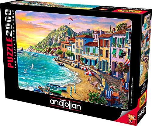 Anatolian Puzzle - Wonderful Beach, 2000 Piece Jigsaw Puzzle, #3948 (ANA3948)