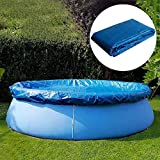 Haxiqiway Simple Home & Living 6ft in Diameter Swimming Pool Cover, Durable Pool Dust Cover for Round Above...