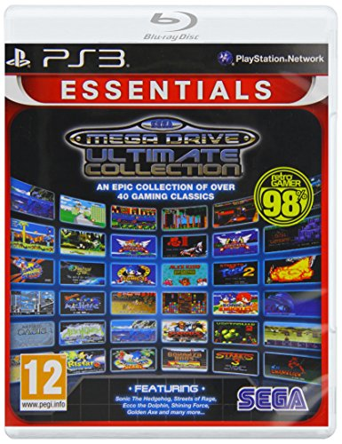 SEGA Mega Drive: Ultimate Collection- Essentials (PS3) [Importación inglesa]
