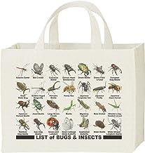 エムワイディエス(MYDS) 虫のリスト/キャンバス スクエア トートバッグ