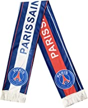 UHBHEA FC Paris Saint-Germain PSG Team Scarf Soccer Club Fan Double Sided knitted Scarf Blue