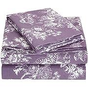 Pinzon 170 Gram Flannel Cotton Pillowcases, Set of 2, Standard, Navy Dot