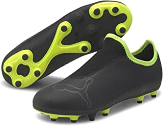 PUMA Boys Finesse Laceless Firm Ground Football Boots