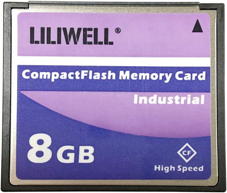 LILIWELL Original 8GB CompactFlash Memory Card Industrial (TS8GCF133) Camera Cards