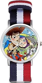 Toy Story - Reloj de ocio para adultos, moderno, bonito y personalizado, de aleación, casual, deportivo, para hombres y mu...
