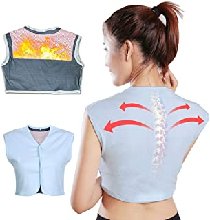 Self Heating Magnetic Shoulder Support, Tourmaline Far Infrared Magnetic Therapy Self-Heating Shoulder Pad For Pain Relief...