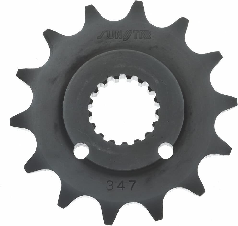 Sunstar 55617 17-Teeth 530 Chain Countershaft Sprocke Tucson Mall Reservation Size Front