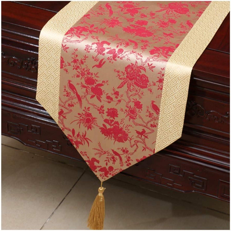 JUNYZZQ Tischläufer Tischfahnenstoff Brokattisch Couchtisch Stoff American Modern Creative Tischdecke 30X200Cm B07MT4FVGS Elegant | Haben Wir Lob Von Kunden Gewonnen