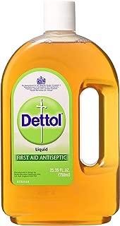 Dettol Antiseptic Liquid from England 750ml Bottle (Pack of 4)