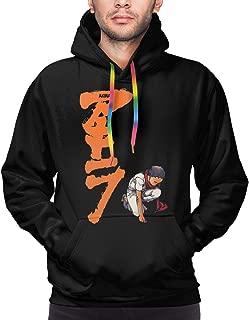 Others Akira Capsules Men's Hooded Hoodie Pullover Cute Hooded Pullover Sweatshirt Black