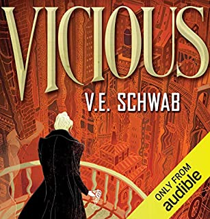 Vicious audiobook cover art
