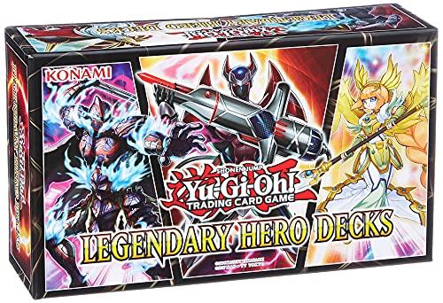 Yugioh Konlehd Yu-gi-oh-legendary Hero Decks - en Anglais