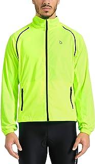 Baleaf Men's Cycling Jacket Vest Windproof Water-Resistant Coat Breathable Outdoor Sportswear