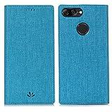 Eastcoo Xiaomi Mi A1 Hülle, PU Leder Folio Flip Handyhülle Brieftasche Mit Standfunktion Magnetverschluss Wallet Book Klapphülle Schutzhülle Tasche Hülle Cover für Xiaomi Mi A1 (Mi A1,Blue)
