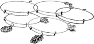 Alex-and-Ani Path of Life Silver Expandable Bracelet A16STRENGTHRS