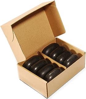 ForPro Basalt Massage Stones, Large, 8-Count