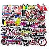 Cubierta de la computadora portátil del teléfono de la decoración de la Maleta de la Motocicleta con Palabras Divertidas calcomanías de Vinilo sticker-100PCS