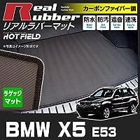 Hotfield BMW X5 E53 トランクマット ラゲッジマット カーボンファイバー調 防水