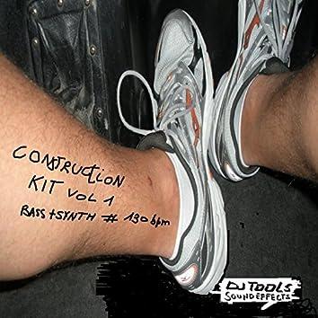 Construction Kit Volume 1 (Bass & Synth @ 130 Bpm - DJ Tools)
