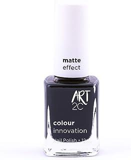 Art 2C @Night Matte Effect Nail Polish - Smalto per unghie effetto opaco, 11 colori, 12 ml, colore: MT31