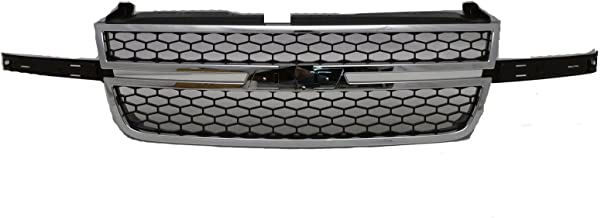 OE Replacement Chevrolet Silverado Pickup Grille Assembly (Partslink Number GM1200546)