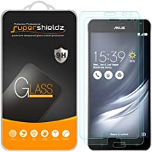 (2 Pack) Supershieldz Designed for Asus ZenFone AR Tempered Glass Screen Protector, Anti Scratch, Bubble Free