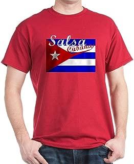 CafePress Salsa Cubana Classic 100% Cotton T-Shirt