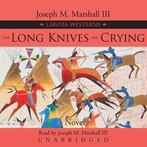 The Long Knives Are Crying audiobook cover art