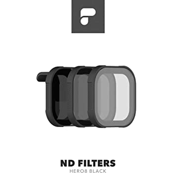 PolarPro ND Filter 3-Pack for GoPro Hero8 Black (Shutter Collection ND8/16/32)