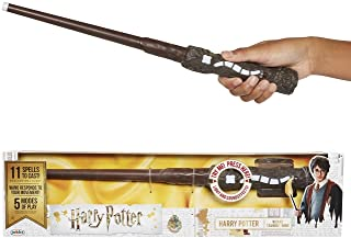 Jakks Pacific-Exclusiva varita de Harry Potter con hechizos