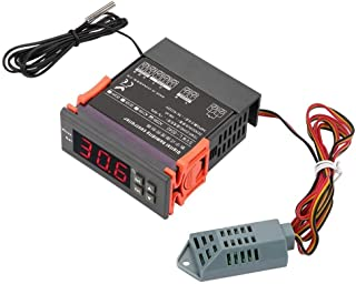 BiuZi WH8040 220V Digital Air Humidity Control Controller Range 1%-99% RH HM-40 Type Sensor