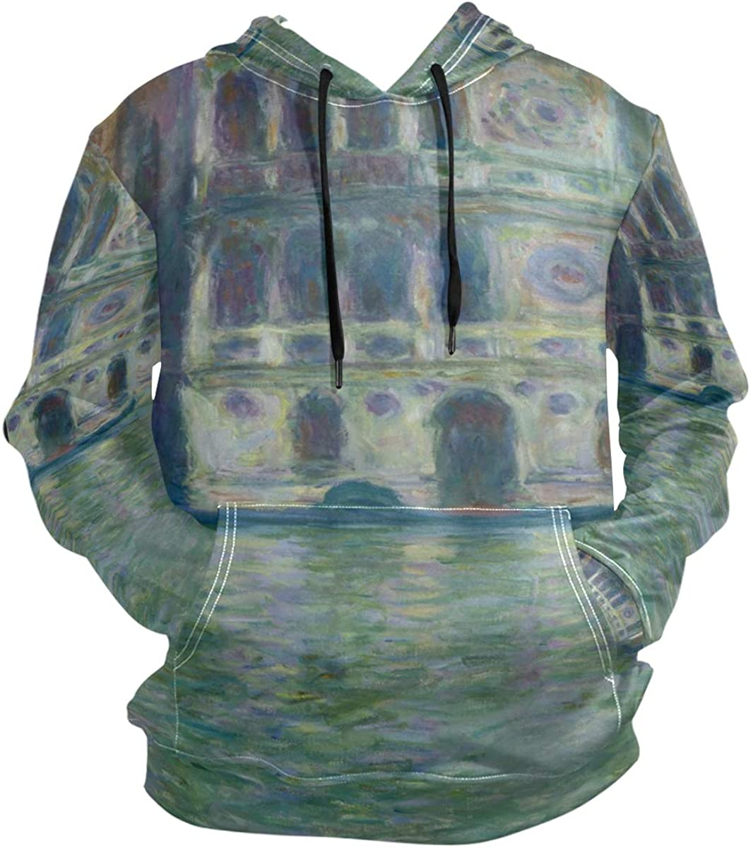 SLHFPX Monet Dario Palace Ranking TOP13 Ranking TOP4 Venice Hooded Long 3D Hoodie Pullover