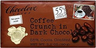 Chocolove Dark Coffee Crunch Chocolate Bar 3.2 OZ(Pack of 3)