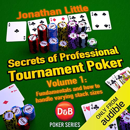 Secrets of Professional Tournament Poker, Volume 1  By  cover art