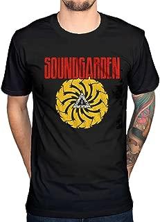 AWDIP Men's Official Soundgarden Badmotorfinger T-Shirt Rock Band Album Cover
