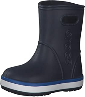 Kids' Crocband Rain Boot | Waterproof Slip On Shoes | Kids' Rain Boots