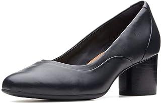 حذاء بكعب من كلاركس للنساء، مقاس 3.5 UK, (اسود), 3.5 UK
