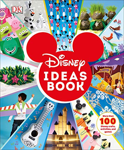 Disney Ideas Book (Hardcover)  $11 at Amazon
