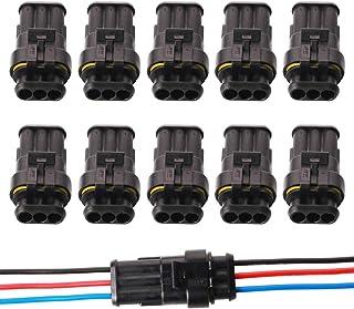 Connettore Giunta Di Connessione Lineare IP68 3 Pin Per Cavo Elettrico 6-12mm