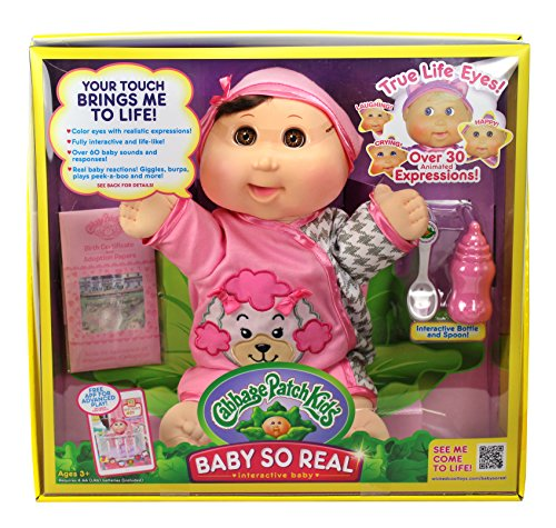 Cabbage Patch Kids 14 Baby So Real Brunette by Cabbage Patch Kids