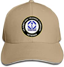 US Army 84th Training Command Unit Crest Veteran Trucker Hat Baseball Cap Adjustable Sandwich Hat Military Hat