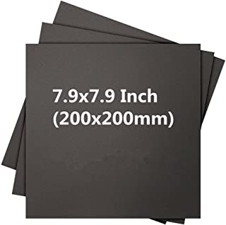 """WillBest 5 pcs*Sindoh 3DWOX DP200 3D Printing Build Surface 7.9"""" x 7.9"""" (200 x 200mm) heated printing bed tape"""
