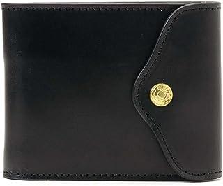 (グレンロイヤル) GLENROYAL Sliding Wallet/03-5956 三つ折り財布 BLACK [並行輸入品]