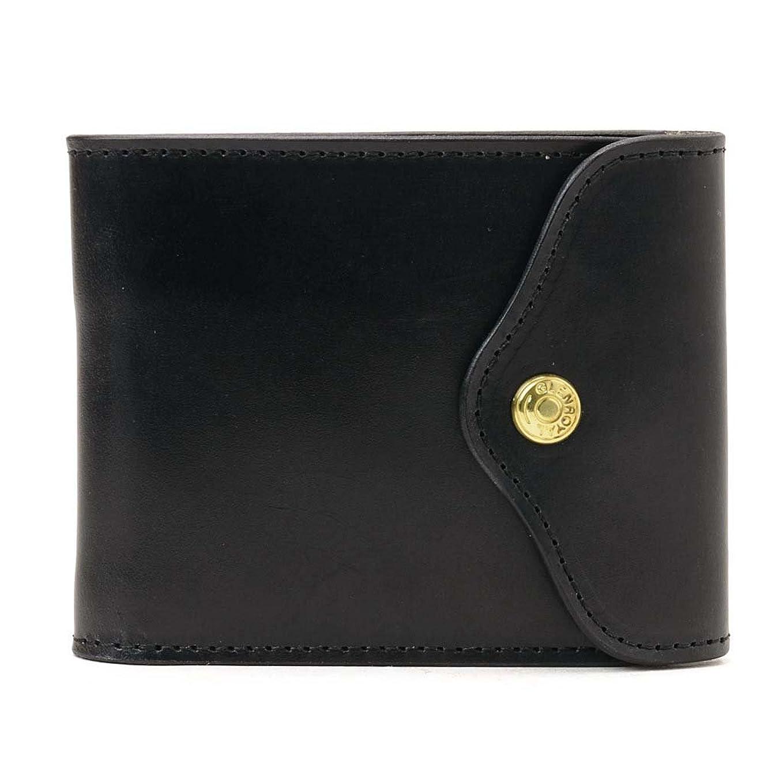 電卓かなり蒸し器(グレンロイヤル) GLENROYAL Sliding Wallet/03-5956 三つ折り財布 BLACK [並行輸入品]