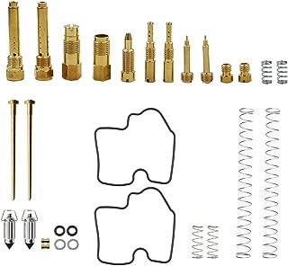 WFLNHB Carb Rebuild Kit fits for Kawasaki KVF750 Brute Force 05-07 Carburetor Pack of 2