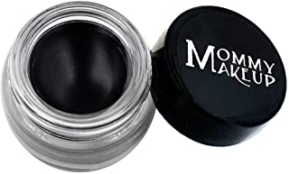 Mommy Makeup Waterproof Stay Put Gel Eyeliner with Semi-Permanent Micropigments - smudge-proof, long wearing, paraben-free...