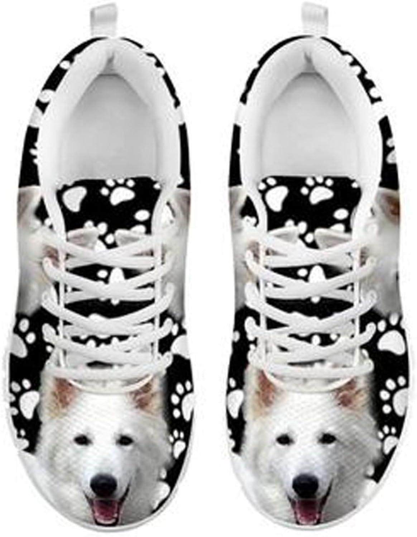 skortap skortap skortap Söt hund Tass Skriv ut kvinnor's Casual skor vit  Vi levererar det bästa