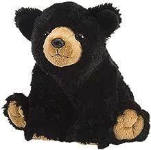 Wild Republic Black Bear Plush, Stuffed Animal, Plush Toy, Gifts for Kids, Cuddlekins 12 Inches