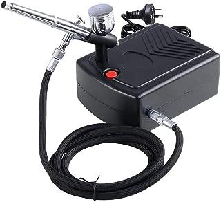 Yescom Mini Compressor Kit Dual Action Airbrush Air Brush Spray Gun 7cc Set
